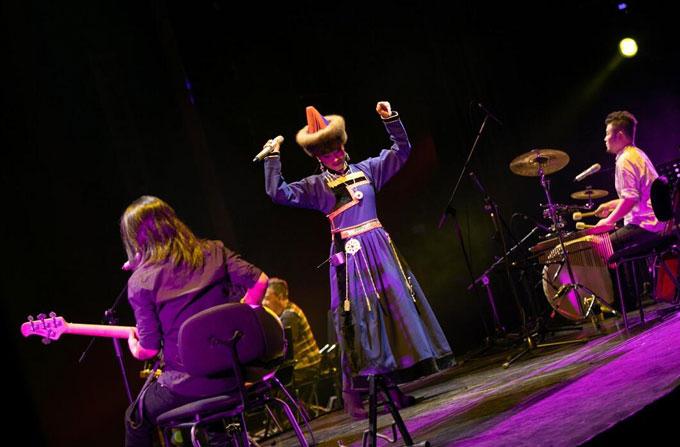奈热乐队北京音乐会