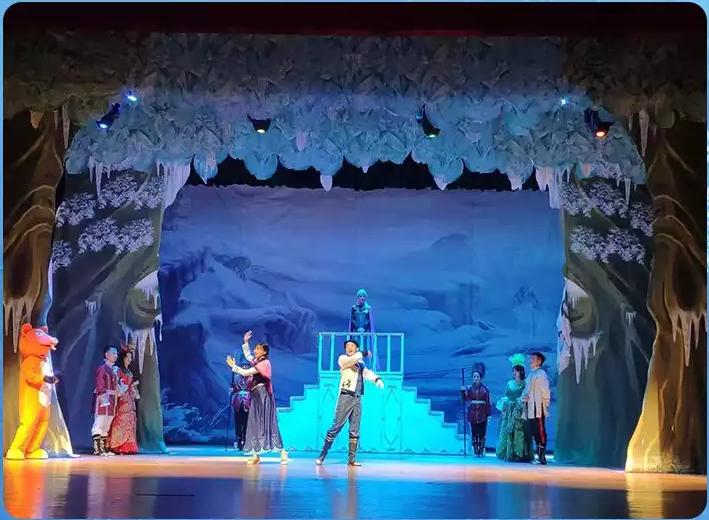 2019亲子剧《冰雪皇后爱莎的魔法秘密》
