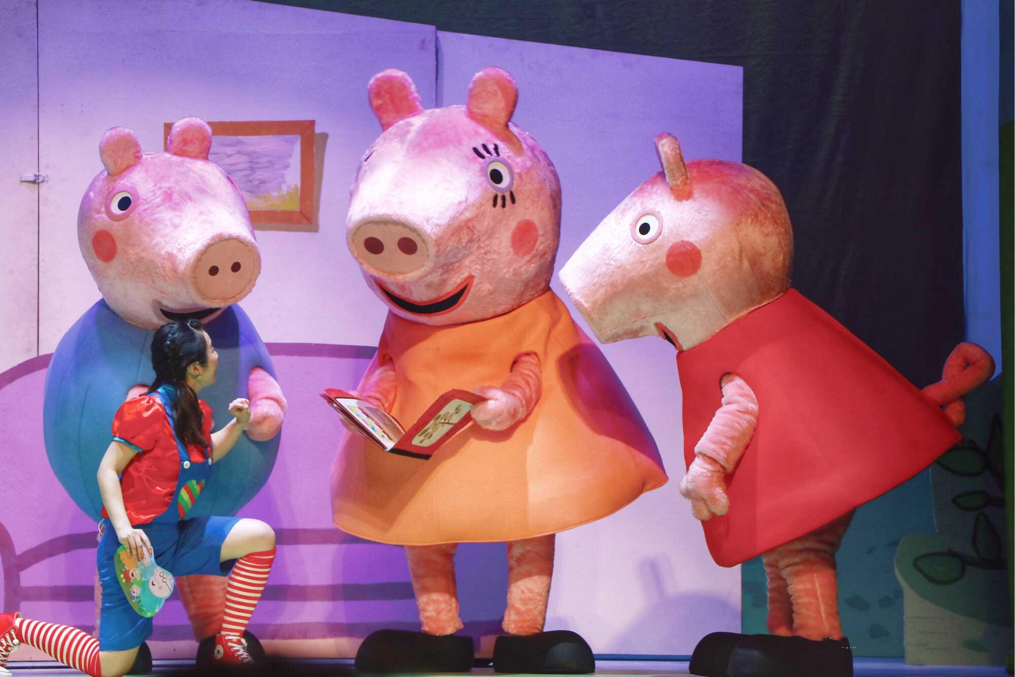 《小猪佩奇舞台剧佩奇欢乐派对》南京演出门票