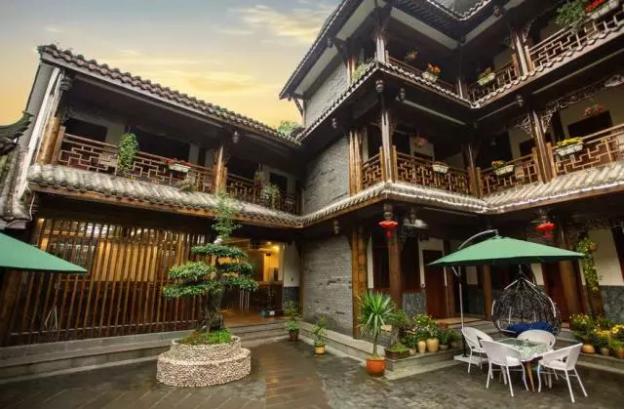青城山花与溪私人花园酒店