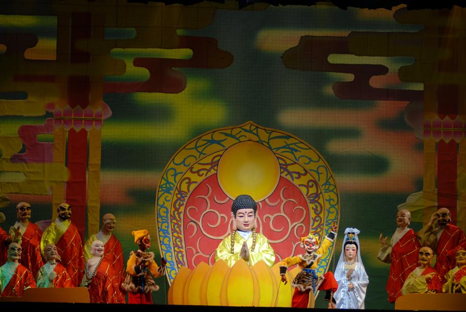 大型经典神话木偶剧《真假孙悟空》北京站