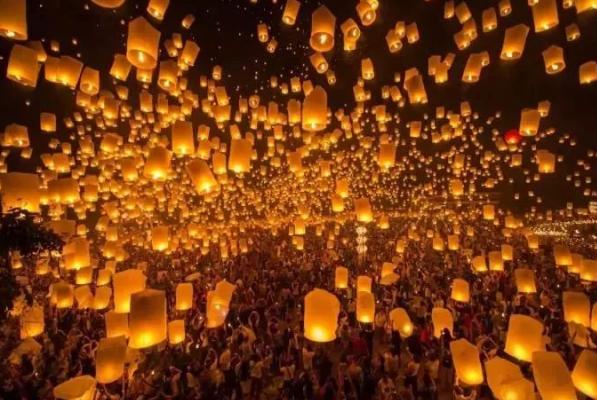 2019清迈纳兰天灯节