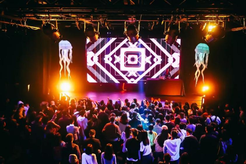 超模DJ巡演荧光派对武汉站