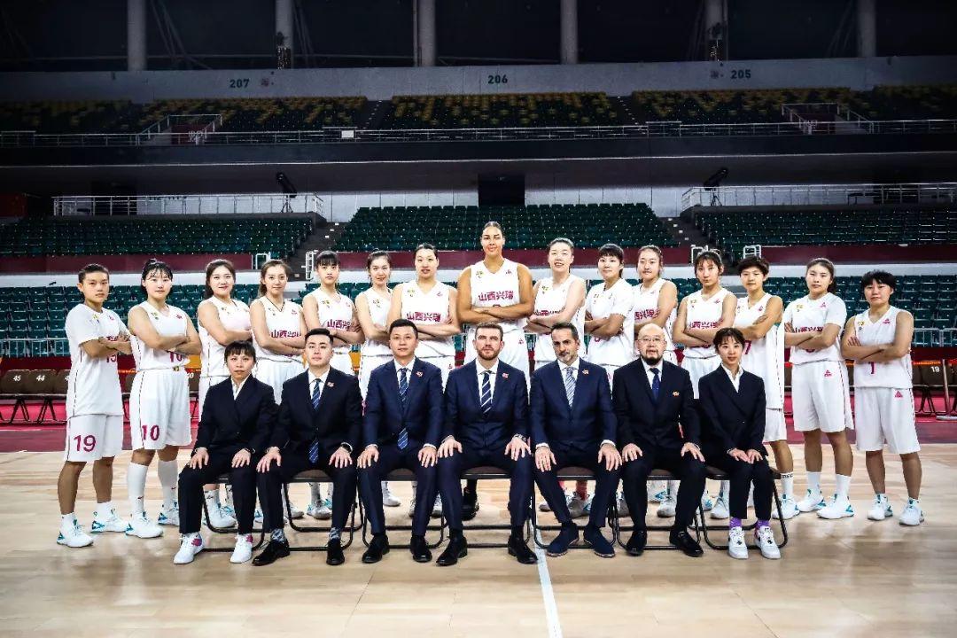 2019-2020赛季WCBA山西烈焰竹叶青女篮