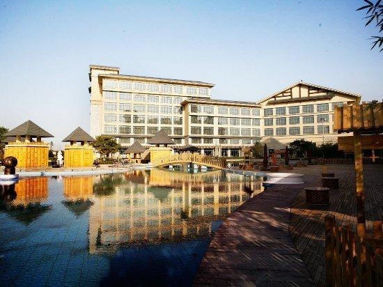 九华山庄贵宾楼大酒店温泉