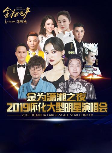 金为潇湘之夜2019怀化大型明星演唱会