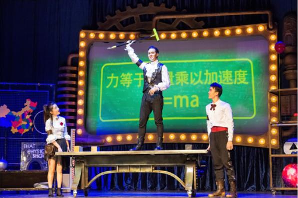 百老汇科学剧《物理秀》中文版青岛站