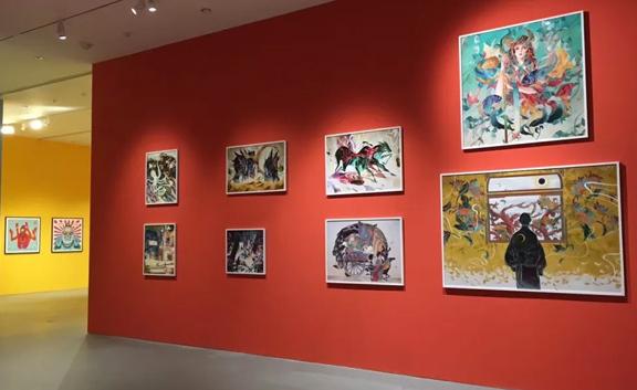 奇境森林2019亚洲插画艺术节厦门展