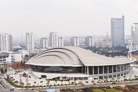慈溪市体育中心体育馆