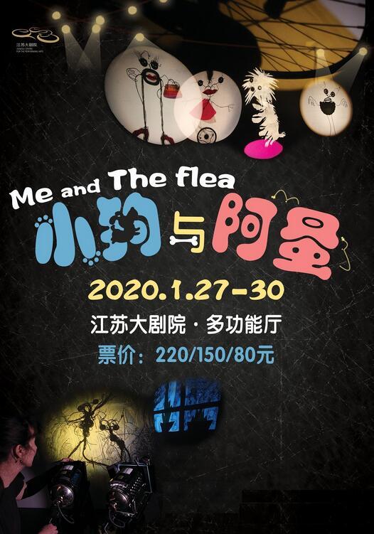 江苏大剧院2020新年演出季荷兰光之一族剧团儿童光影剧《小狗与阿蚤》-南京站