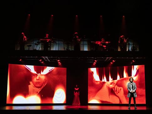 《摇滚红与黑》西安演出门票