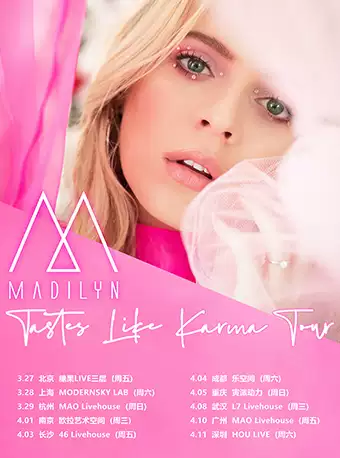 Madilyn Bailey 2020中��巡演-�V州站