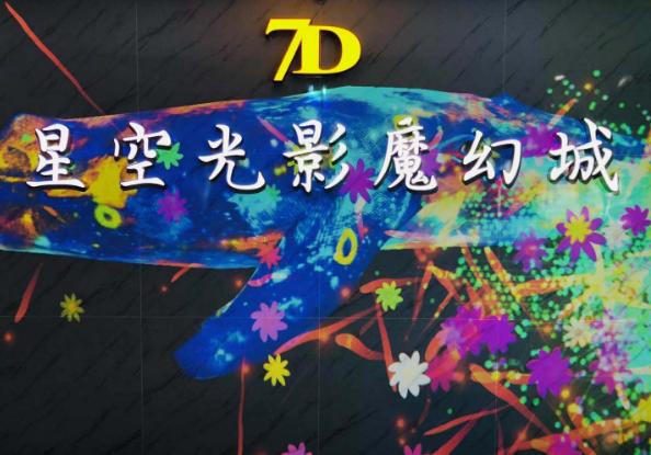 7D星空光影魔幻城