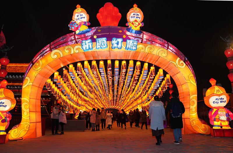 2020南京城墙灯会