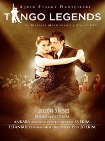 """2020""""全球舞汇盛典""""上篇 阿根廷舞蹈《探戈传奇》郑州站"""