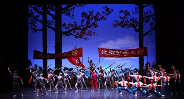 2020舞剧《红色娘子军》深圳站