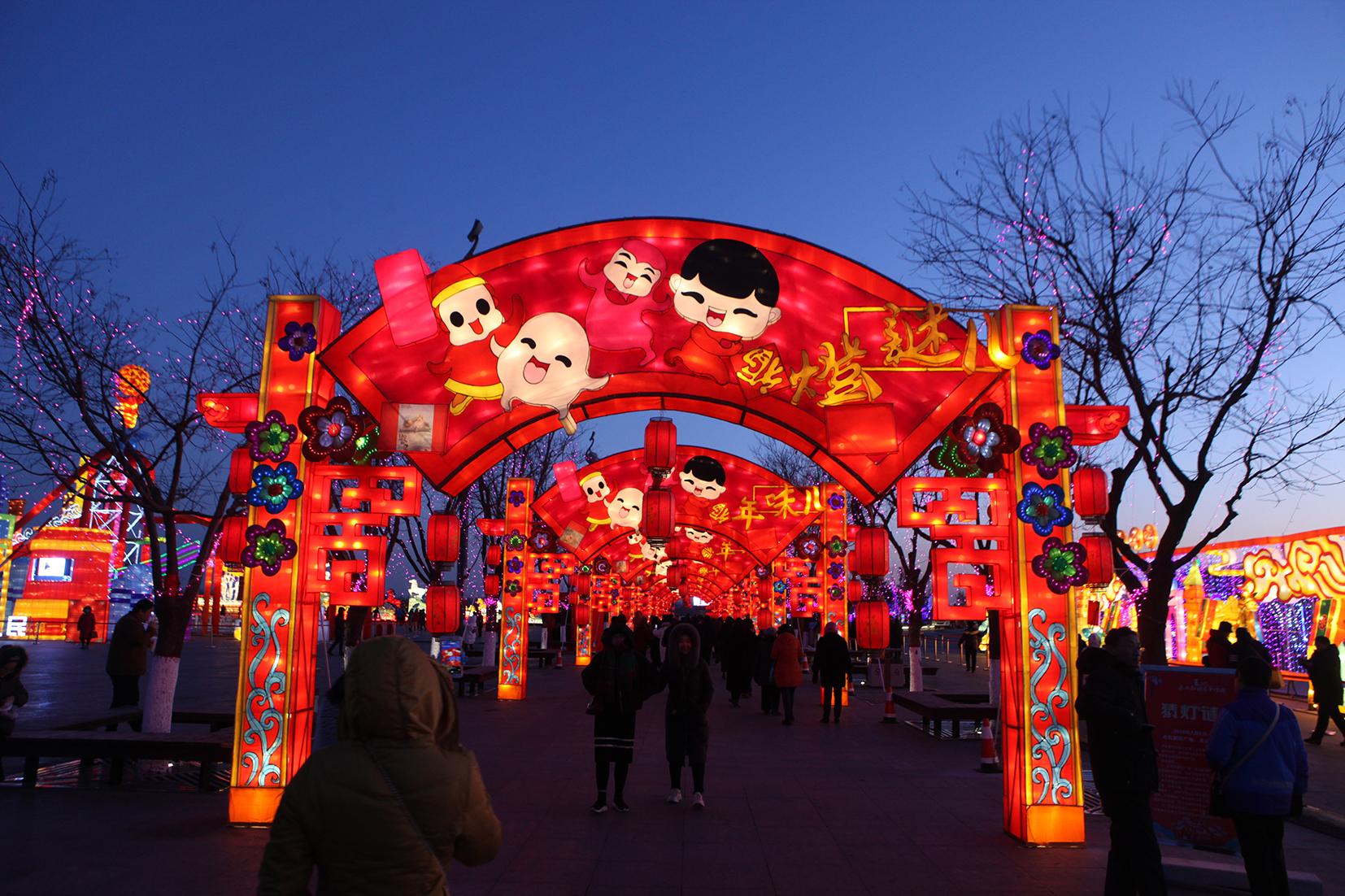 2020年春节唐山南湖灯会,2020年唐山灯会怎么样
