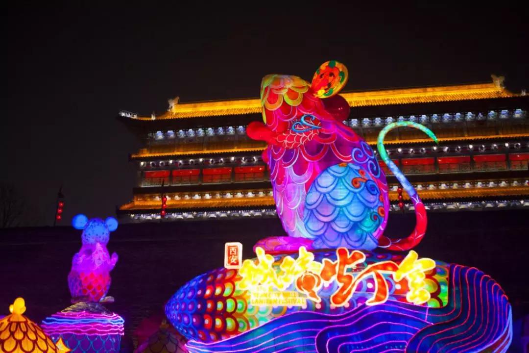 2020西安城墙灯会好看吗?评价如何?人多吗?