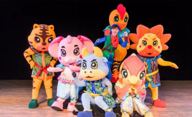 2020音乐剧《小鸡波罗历险记之寻宝猎人》广州站