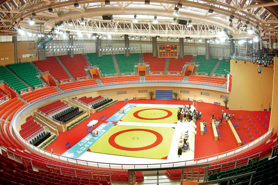 张家港市体育中心体育馆