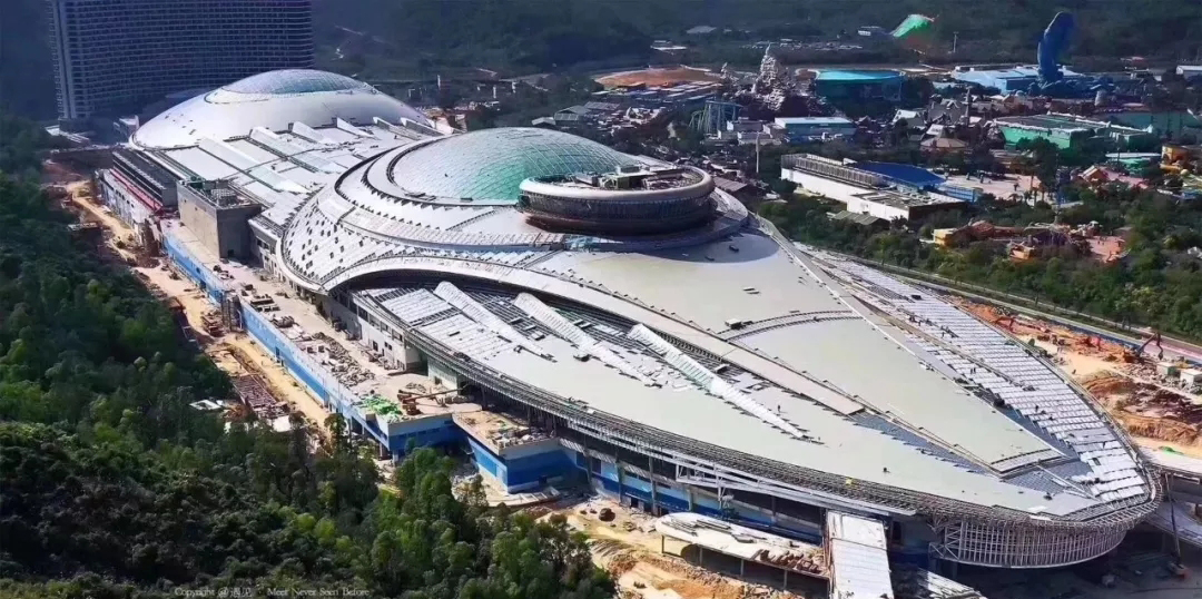 新长隆要来!酷似飞船的世界最大的海洋科学馆,2020年即将迎客