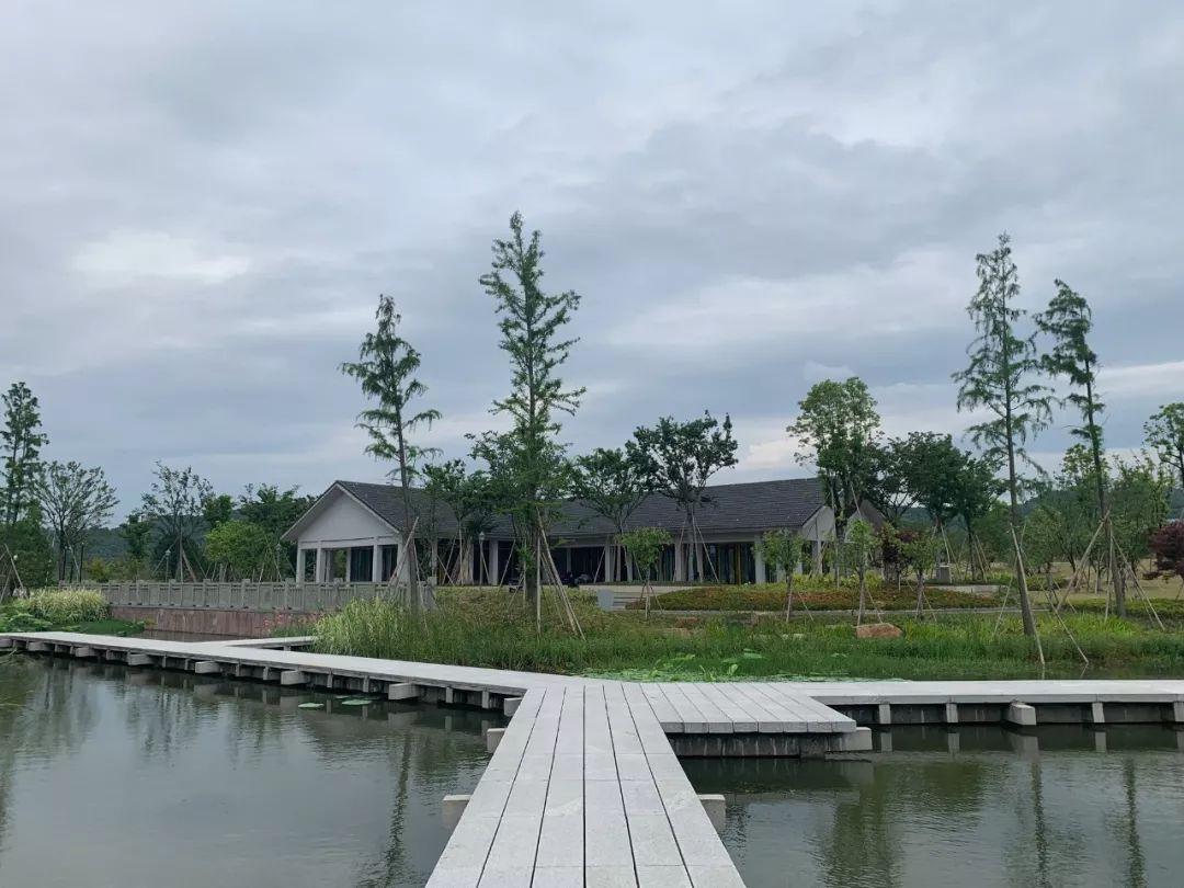 杭州白马湖公园