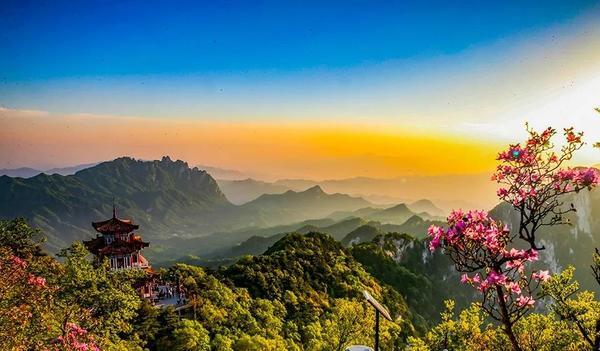 洛阳白云山景区4月1日开园迎客,每日限流3000人次