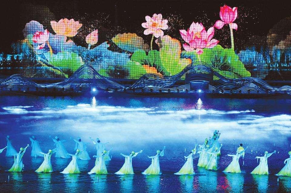 2020太原水上实景演艺《如梦晋阳》演出时间、地点、门票价格