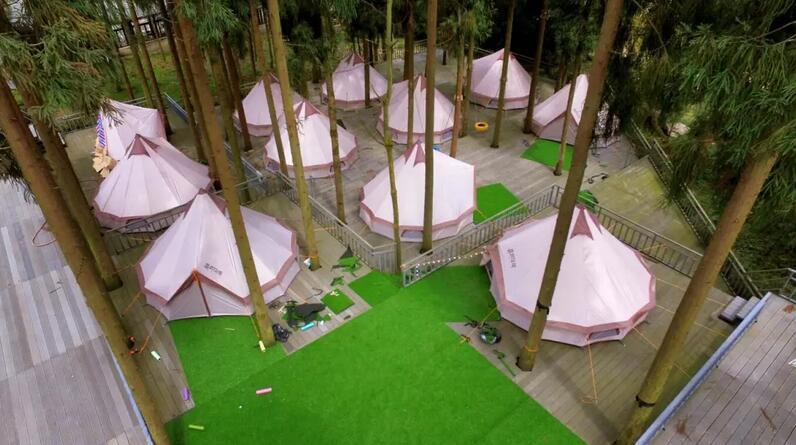 德阳红枫岭帐篷酒店