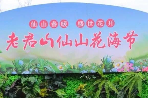 仙山春暖,盛世花开|老君山仙山花海节带你遇见最美的春天!