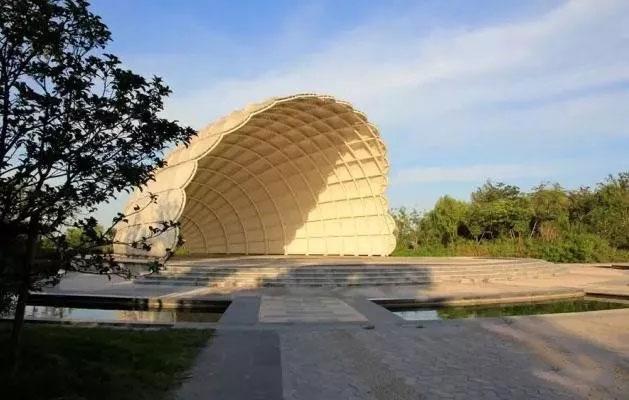 吴淞炮台湾湿地公园