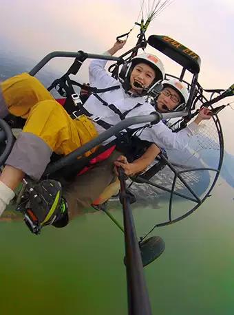 杭州动力滑翔伞飞行体验
