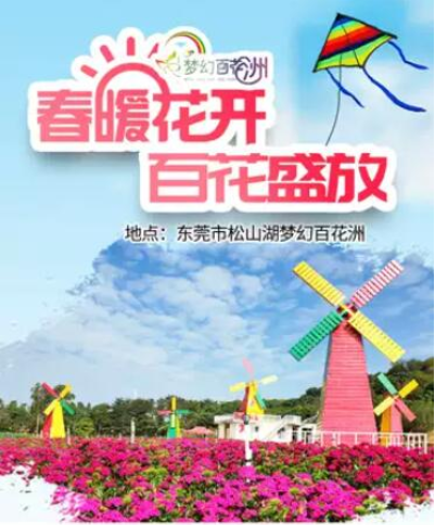 2020东莞松山湖梦幻百花洲百花节时间、地点、门票价格