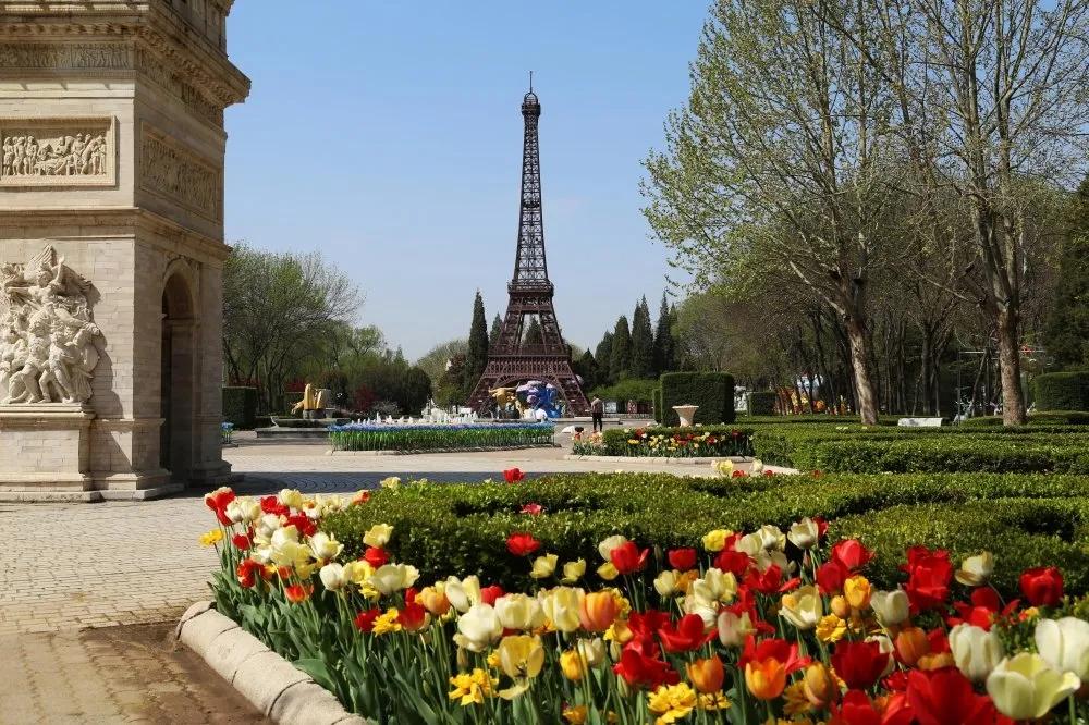 北京世界公园恢复开放