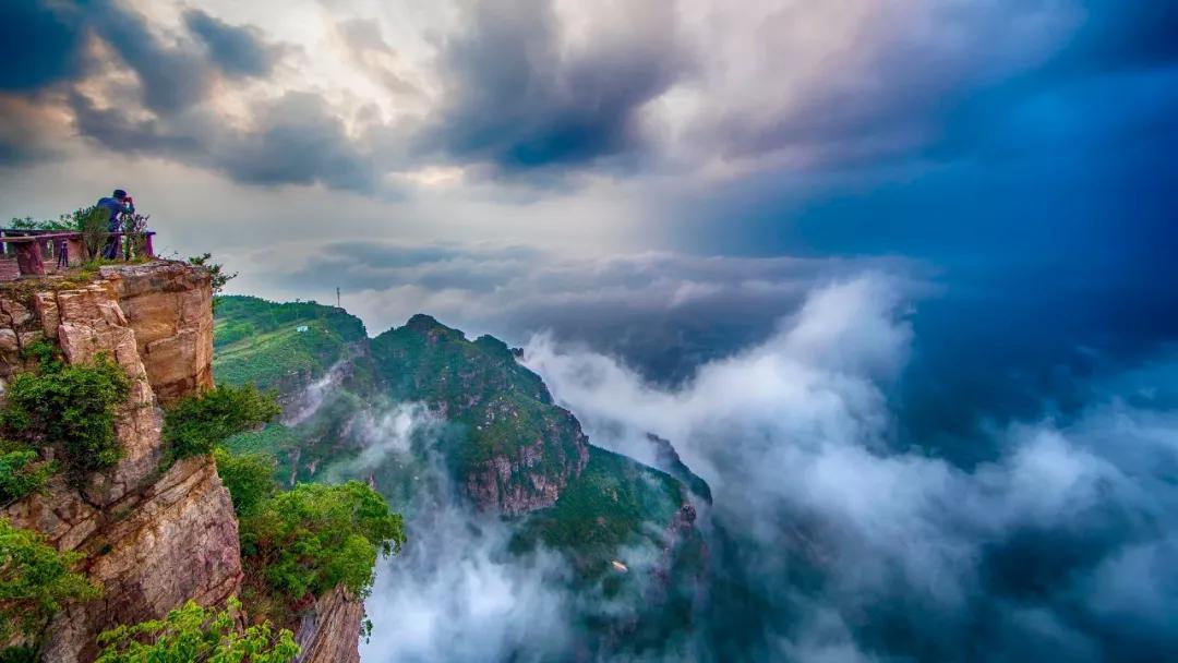 亲近自然、体验刺激 太行大峡谷等你来撩