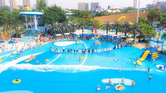 成都欢乐谷水世界2020全新开园 启动全城造浪狂欢