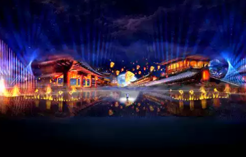 2020水上实景演艺《如梦晋阳》太原站演出时间、门票、亮点