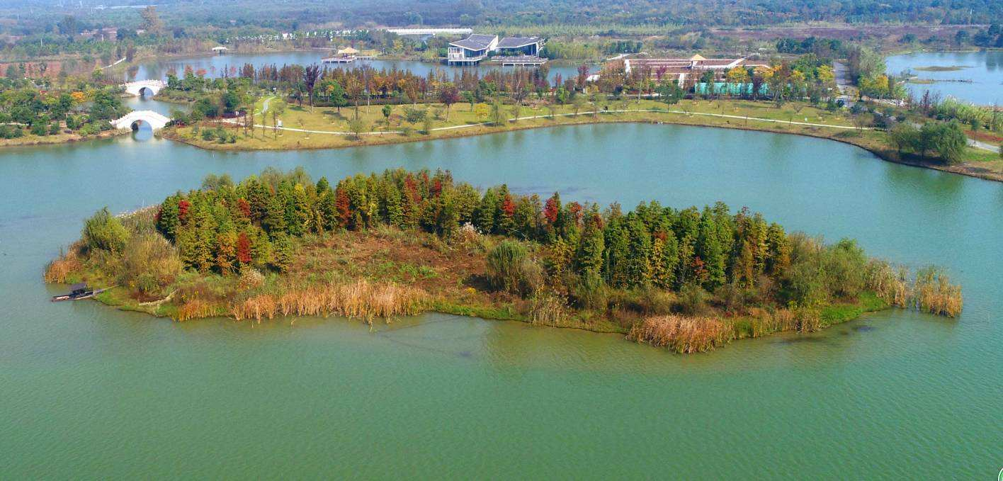 湖州长兴太湖图影湿地