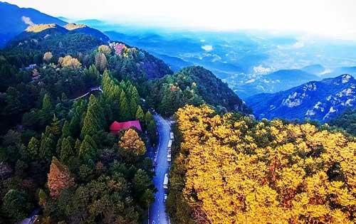 庐山风景区