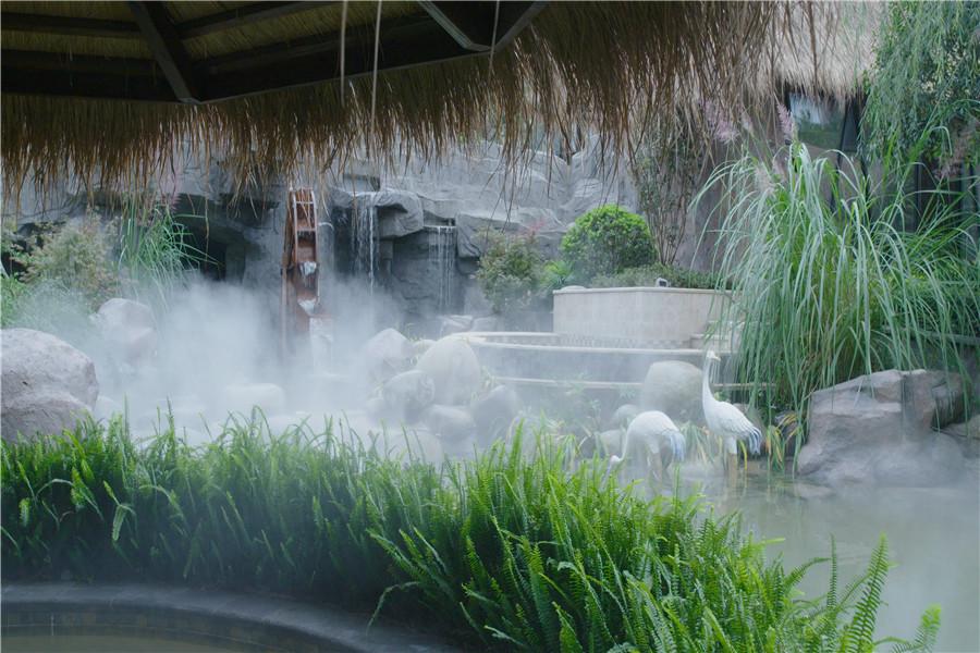 蜀乐池天然温泉