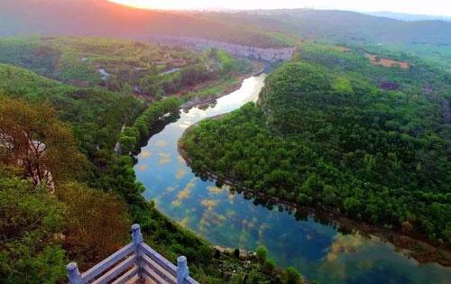 鹤壁天然太极图景区