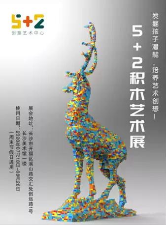 长沙5+2积木艺术展