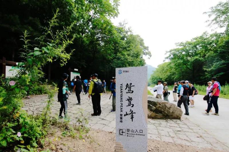 鸳鸯峰景区
