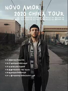 Novo Amor北京演唱会