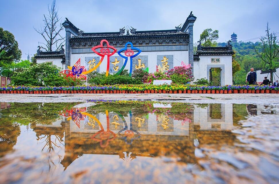 无锡惠山古镇景区