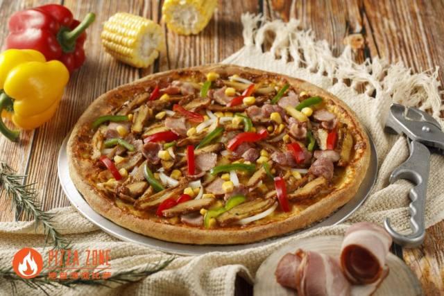 PIZZAZONE地盘薄底比萨