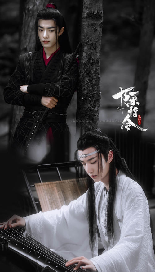陈情令国风音乐演唱会官方海报全员团签