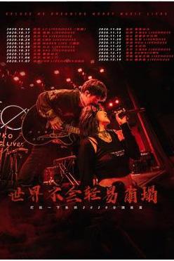"""打扰一下乐团""""世界不会轻易崩塌""""2020巡演 重庆站"""
