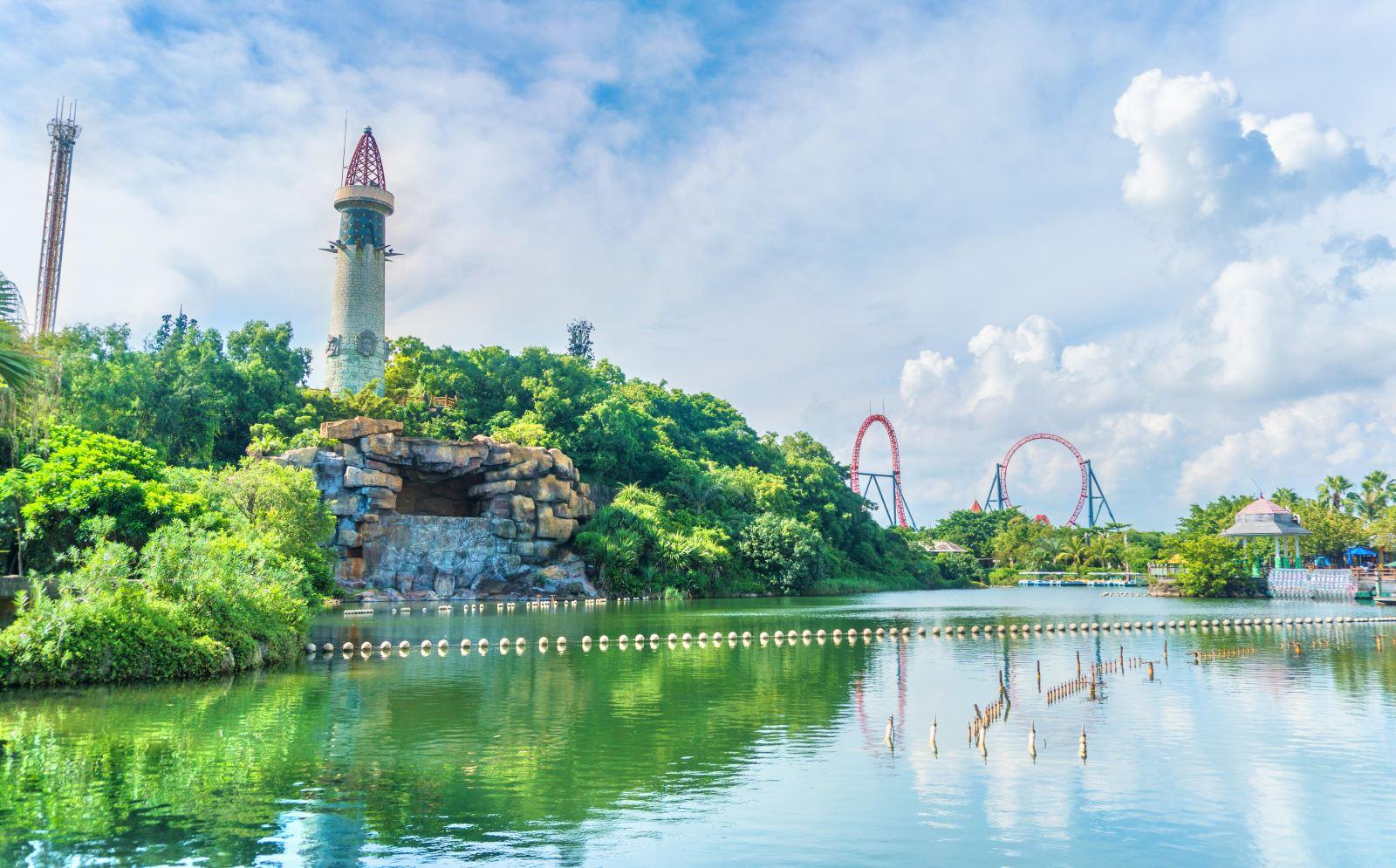 珠海海泉湾神秘岛乐园