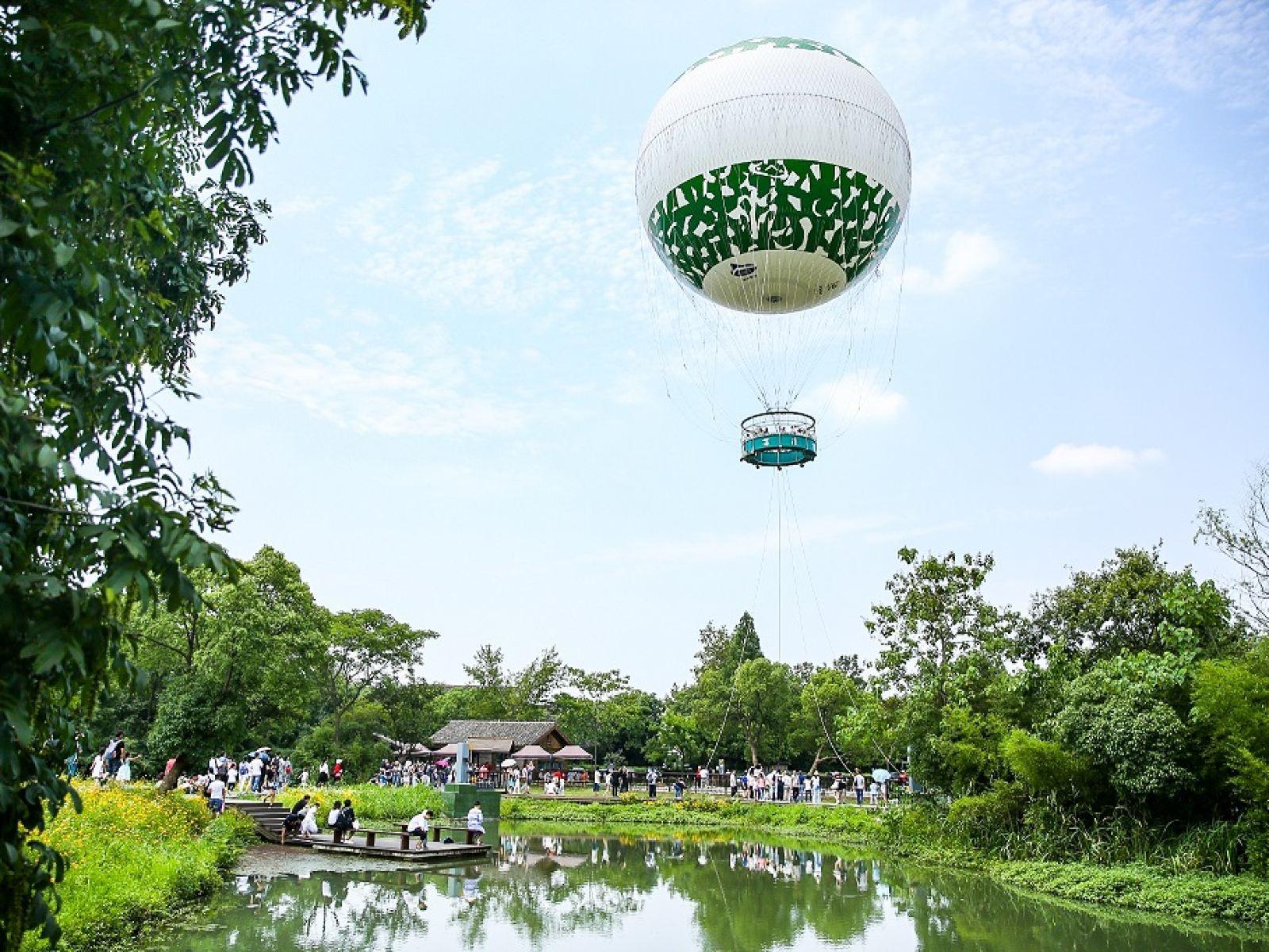 西溪空中揽胜氦气球